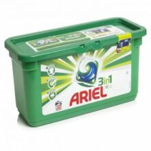 قرص ماشین لباسشویی 35 عددی ژله ای آریل مدل Ariel 3in1
