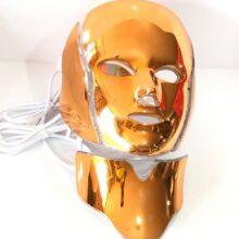 ماسک گلد گردن دار و صورت ال ای دی نور درمانی
