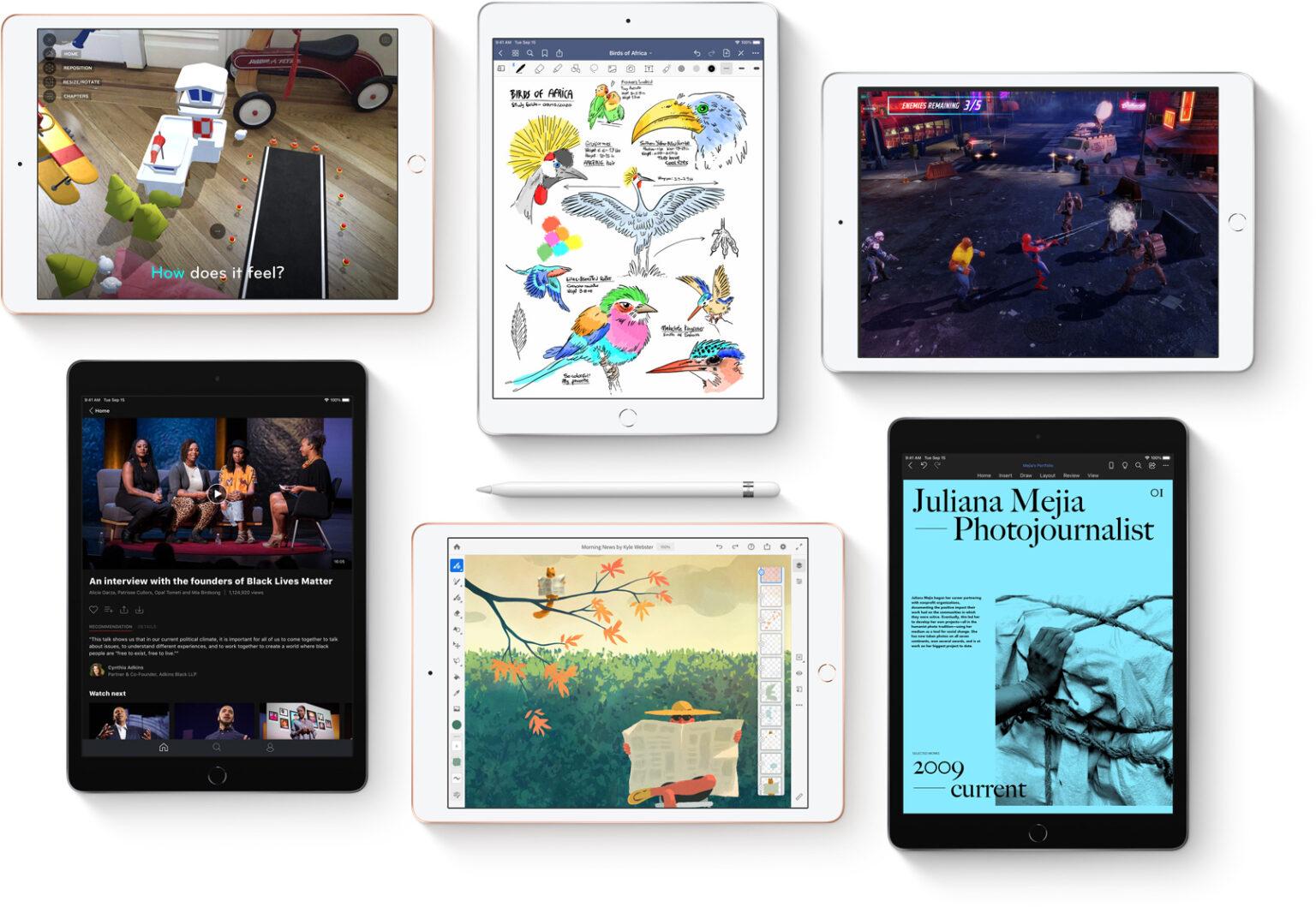 آیپد 8 مدل iPad 8 10.2 inch 2020 WiFi ظرفیت 128 گیگابایت