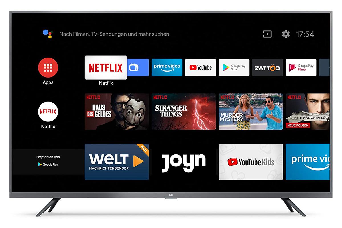 تلویزیون شیائومی 4S- Android TV