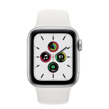 اپل واچ سری SE نسخه 40 میلی متری نقره ای