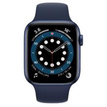 اپل واچ سری 6 نسخه 44 میلی متری آبی