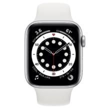 اپل واچ سری 6 نسخه 44 میلی متری نقره ای