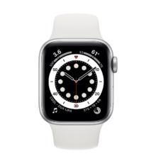 اپل واچ سری 6 نسخه 40 میلی متری نقره ای