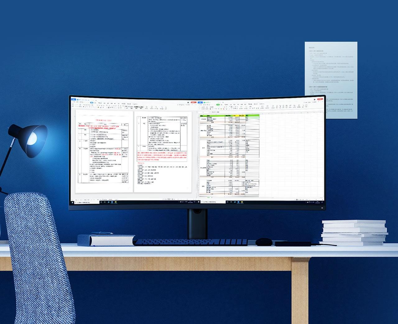 نقد و بررسی تخصصی مانیتور گیمینگ شیائومی سایز ۳۴ اینچ مدل Mi CurvedDisplay .