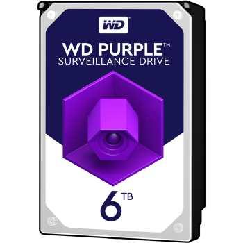 نقد و بررسی تخصصی هارددیسک اینترنال وسترن دیجیتال 6 ترابایت مدل Purple HA500. مشخصات و قیمت هارد wd60purz