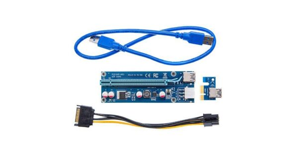 009s PCI EXPRESS X1 to X16 GRAPHIC RISER