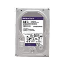 هارددیسک اینترنال وسترن دیجیتال ظرفیت 8 ترابایت مدل Purple WD82PURZ