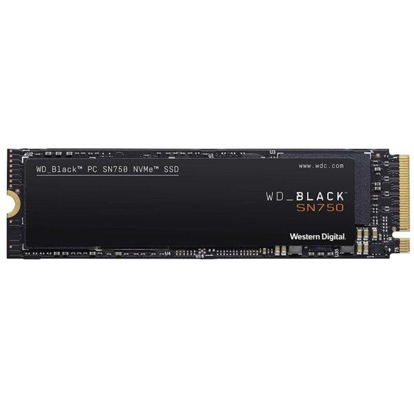 حافظه SSD وسترن دیجیتال مدل BLACK SN750 NVME ظرفیت 1 ترابایت
