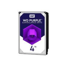 هارددیسک اینترنال وسترن دیجیتال ظرفیت 4 ترابایت مدل Purple Surveillance WD40PURZ